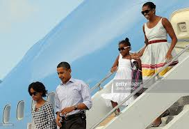 Vacation Obama The Obama Family Arrives At Martha U0027s Vineyard For Summer Vacation