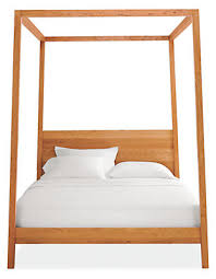 Room And Board Bedroom Furniture Hale Wood Canopy Bed Modern Beds U0026 Platform Beds Modern