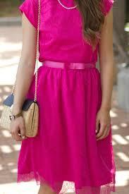 pink lace dress caralina style