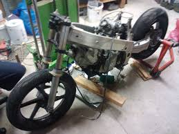 honda vfr 400 sv650 engine in vfr400 frame progress