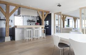 grand designs kitchens contemporary country dining space woonboerderij remy meijers