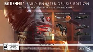 how to get black friday deals on amazon pre order amazon com battlefield 1 early enlister deluxe edition