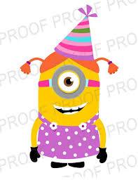 birthday clipart minion clipart 57