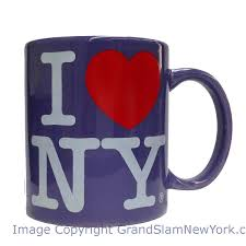 i love ny purple 11oz mug