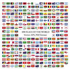Countries Of The World Flags Flaggen Der Welt Clip Art Sammlung 288 Flaggen Der Länder Und