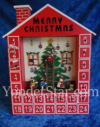 christmas advent calendar wooden christmas advent calendar house yonder christmas