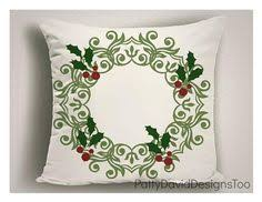 Decorative Christmas Pillows Throws by Christmas Pillows With Vintage Santa U0027s Sleigh Christmas Throw
