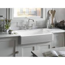 Faucet Kitchen Sink Kohler Triple Sink Cast Iron Tags Awesome Kohler Kitchen Sinks