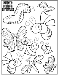 coloring mini beast crafts coloring