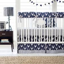 Baby Deer Crib Bedding Deer Crib Bedding Navy Crib Bedding Woodland Baby Bedding