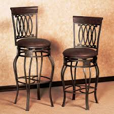 Height Of Stools For Kitchen by Furniture Leather Brown Counter Height Bar Stools For Vintage