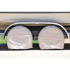 Walmart Trailer Tires Set Of 4 Canvas Wheel Tire Covers For Rv Camper Truck Car Auto