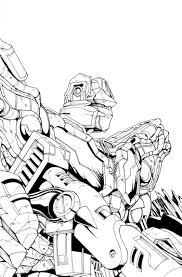 lineart and clean incentive covers of transformers foundation