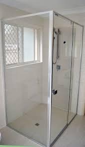 Frameless Shower Door Handle by Semi Frameless Shower Doorreturn Med Art Home Design Posters