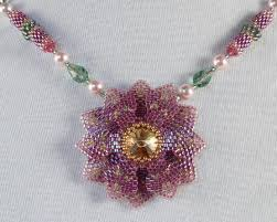 beading necklace designs images Beaded jewelry by linda richmond downloadable bead patterns from jpg