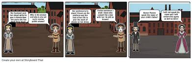 the scarlet letter chapter 3 storyboard by anhowes