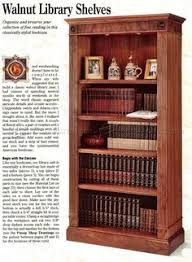 office bookcase plans furniture plans and projects