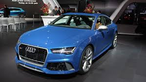 audi rs 7 sportback 2016 audi rs 7 sportback performance review top speed