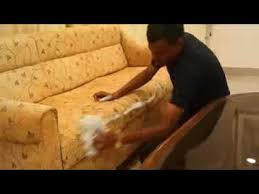 Dry Cleaning Sofa Dry Cleaning Sofa Karpet Youtube