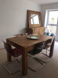 dining furniture reclaimed oak dining table sideboard u0026 6 ikea