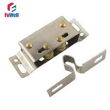 Magnetic Closet Door Latch 4pcs Cabinet Closers 54x18mm Magnetic Closet Door Catches