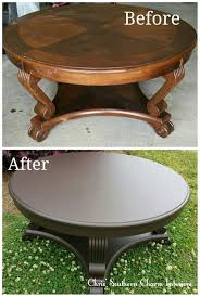 refinishing end table ideas refinish coffee table rustic coma frique studio 614a90d1776b