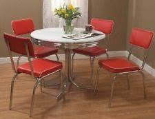 Retro Kitchen Table Sets Retro Dining Set Ebay