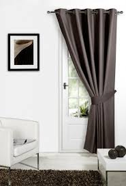 Blackout Door Curtains Blackout Thermal Door Curtains In Eyelet Ring Top Style Ebay
