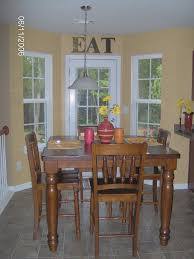 Breakfast Nooks Chic Kitchen Breakfast Nook With Metal Table With Oval Shape Glass