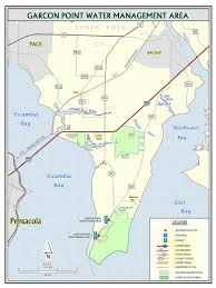 Panhandle Florida Map by Garcon Point Northwest Florida Water Management District