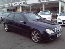 mercedes 3 door coupe 2003 mercedes c class c200 cdi se 3dr auto 3 door coupe ebay