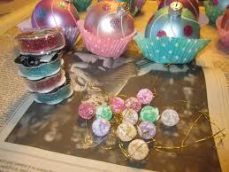 a legacy of cup cake ornaments
