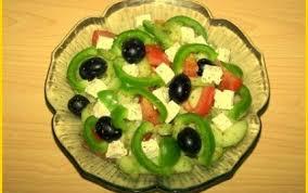 cuisine grecque traditionnelle recette salade grecque traditionnelle 750g