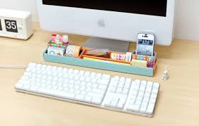 How To Make A Cardboard Desk 25 Clever Ways To Keep Your Workspace Organized Brit Co