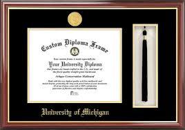 of michigan diploma frame of michigan diploma frame gold medallion tassel box
