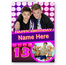Birthday Card With Bars Personalised Name Photo Age Added Bars Melody A5 Happy