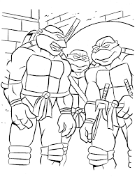 teenage mutant ninja turtles coloring pages kids coloring