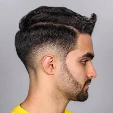 how to cut a flip for men wave spiked hair for men with medium length sides with burst fade