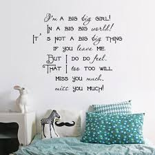 quote decals for glass online shop u0027i u0027m a big big u0027 quotes from english song wall