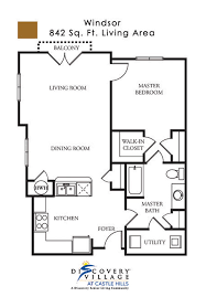 Castle Floor Plan by Floor Plans Discovery Village At Castle Hills