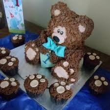 3d teddy bear cake easy video tutorial teddy bear cakes bear
