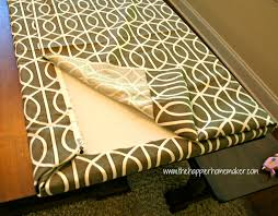 Indoor Bench Cushion Covers Bench Bench Pillow Fast No Sew Bench Cushion The Happier