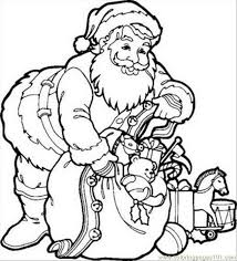8 santa claus coloring pages coloring free shopping