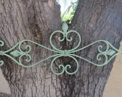 Iron Wrought Wall Decor Handmade Wrought Iron Wall Art Etsy