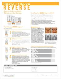 rodan and fields reverse regimen review ingredients and results