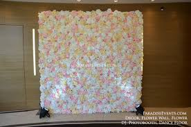 artificial flower wall for rental and purchase vancouver