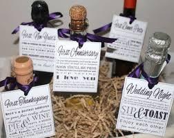 bridal shower wine basket bridal shower wine basket poem tags gift 99 wedding ideas