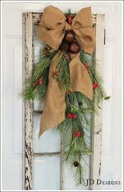 Creative Window Decorations For Christmas by Best 25 Rustic Christmas Decorations Ideas On Pinterest Rustic