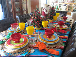 Mexican Decoration For Christmas by The Welcomed Guest Mexican Christmas Tablescape