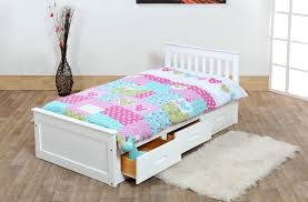 Cheap Childrens Bed Bedroom Country Style Wooden Single Kids Bed Design With Storage